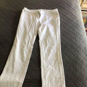 Michael Kors white jeans size 12